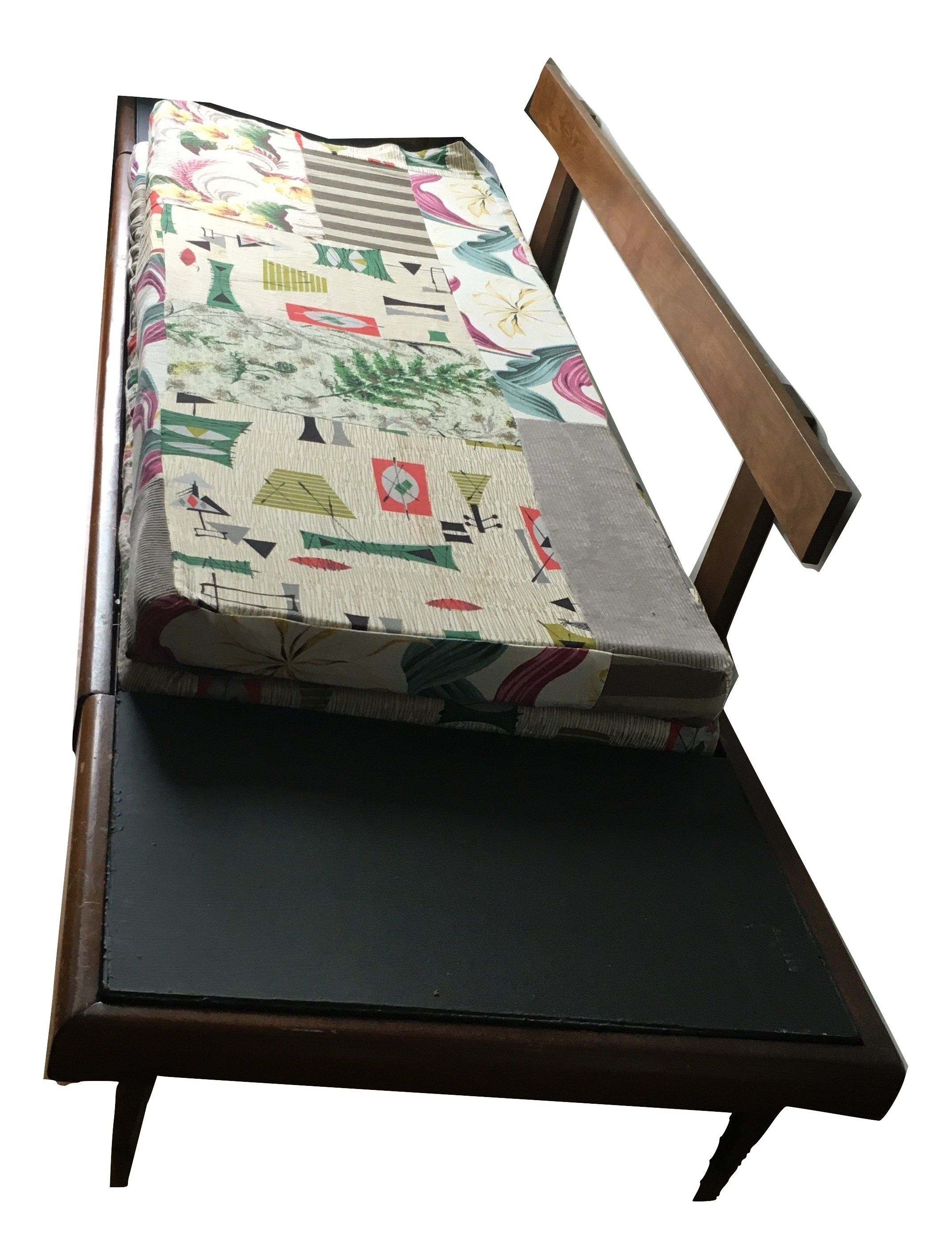 Prime Mid Century Modern 1950S Daybed Pull Out Platform Sofa Caraccident5 Cool Chair Designs And Ideas Caraccident5Info